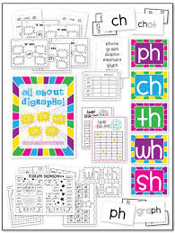 Ch and Tch Worksheets for First Grade | Homeshealth.info