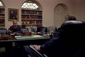lbj oval office. mccarthy eugene meeting with lyndon b johnson in the oval office lbj