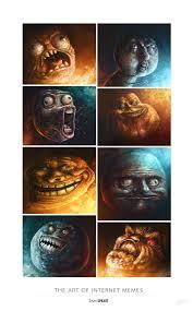"""The Art of Internet Memes"""" - by Sam Spratt ... via Relatably.com"""