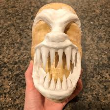 werewolf makeup and prosthetic using homemade fx gelatin step 2