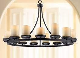 augusta 42 wide rustic bronze chandelier chandeliers canopy and iron