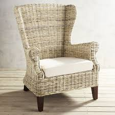 Wingback Chair Loxley Wicker Wingback Chair Pier 1 Imports