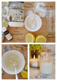 lemon bath scrub ings
