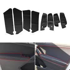 <b>8pcs Car</b> Interior Door Panel Guard + Door Armrest Panel <b>Microfiber</b> ...