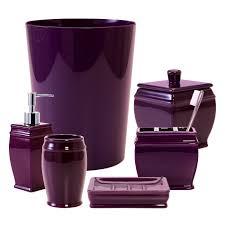 Purple Bathroom Accessories Set Accessories Exquisite Purple Bathroom Sets Home Solutions