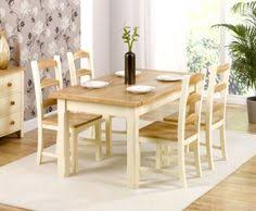 windsor solid pine and ash kitchen dining table with 4 matching chairs 630