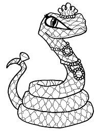 Small Picture Coloring Pages Cleo De Nile Monster High Coloring Page Cp Animal