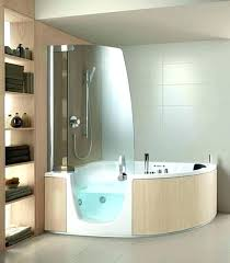 corner tub ideas and shower combo inspiring modern whirlpool menards best