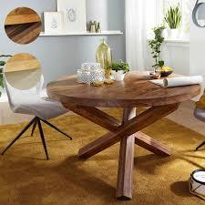 Esstisch Esszimmer Tisch Massivholz Echtholz Mango