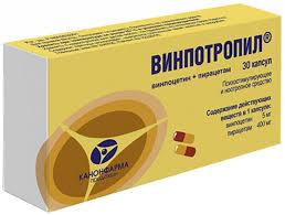 Купить <b>Винпотропил</b> капс. <b>5мг</b>+400мг 30 шт канонфарма ...