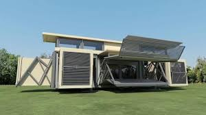 Foldable Houses Incredible Futuristic Innovative Foldable House You Need