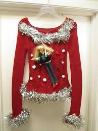 Ugly Christmas Sweater Ideas Homemade | beneconnoi