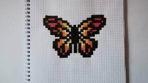 Gallerie immagini, schede, software didattico freeware, opensource, guide, tutorials, siti internet, giochi, svago. Pixel Art Papillon Youtube