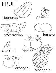 If you want vegetable picture for coloring yourself then. Free Printable Fruit Coloring Pages For Kids