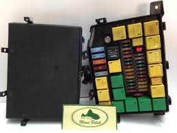 land rover fusebox relay fuse box oem range p38 99 02 yqe103410 used p38 fuse box land rover fusebox relay fuse box oem range p38 99 02 yqe103410 used