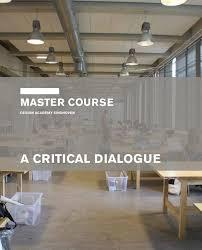 Design Academy Eindhoven Master Design Academy Eindhoven Master Course By Design Education