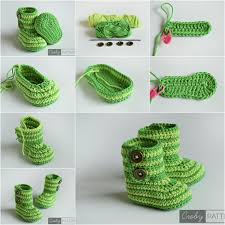 Crochet Baby Shoes Pattern Stunning Cuddly Crochet Baby Booties Free Pattern And Tutorial