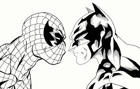 Superheroes cans super speed coloring pages,hulk,flash,spiderman,robin,wolverine,batman coloring. Coloring Pages Spiderman And Batman Coloring Coloring Home
