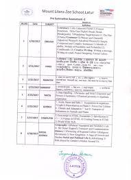 zee school latur com curriculum