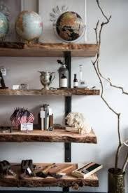 natural wood floating shelves foter