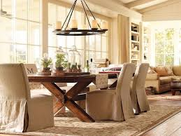 dining room chair slipcovers brown