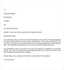 Interview Follow Up Email Template Examples Of Follow Up Letters