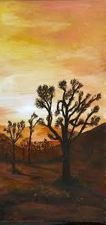 Desert Sunset II Painting by Merle Blair