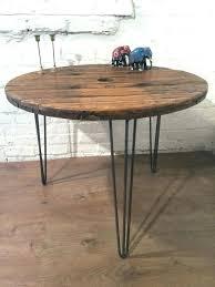 round table hairpin legs medium size of coffee leg coffee table cable drum hair pin leg round table hairpin legs