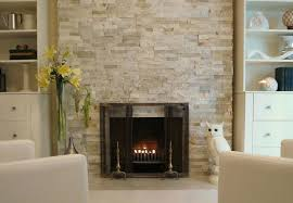 stone tile fireplaces