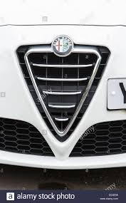alfa romeo grill. Interesting Grill Alfa Romeo Car Grill And Badge  Stock Image Throughout Grill O