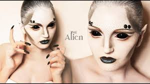 make up tutorials 2016 the alien