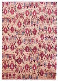j26915 red ikat oriental rug jpg