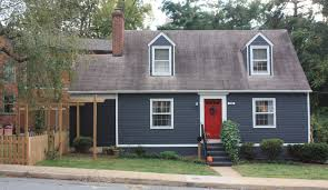 red door grey house. Top Red Door White House With Dried Figs And Wooden Spools Blue Grey H
