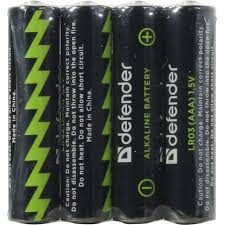 <b>Батарейки AAA Defender</b> LR03-4F 4 шт. — купить в городе ЕЛЕЦ