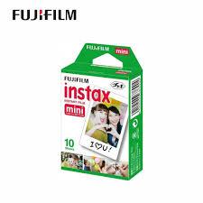 <b>Original Fujifilm</b> Instax Mini plain film Twinpack <b>10</b>/20 <b>Sheets</b> ...