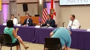 DeSantis' COVID Hospital Tour Lands in Pensacola | WUWF