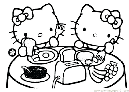 Coloring Hello Kitty Games Hello Kitty Coloring Pages Games Coloring