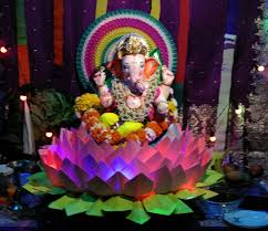 ganpati decoration themes image source ehowart spot