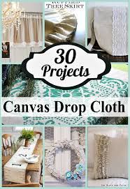 there s something about the natural and neutral look of drop cloth canvas that has attracted crafters and designers for the last few years