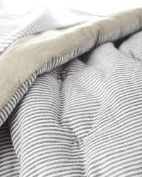 Bedding Beautiful Verano Ticking Stripe Duvet Cover Bedding King ... & How to choose bedding for the guest bedroom must be carefully thought about  so as not to clash colors. If the walls in the bedroom are painted a pale  color ... Adamdwight.com