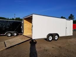Trailers For Sale 8 5x20 White 5200 Cargo Trailer Ad 190