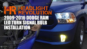 2016 Ram 3500 Fog Light Bulb Installing Led Turn Signal Bulbs In The 09 16 Ram Headlight Revolution