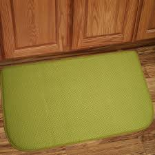 Floor Mats Kitchen Memory Foam Anti Fatigue Kitchen Floor Mat Honeycomb Green