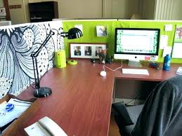 cubicle decorating ideas office. Work Office Decorating Ideas Home Desk  Plain On . Cubicle