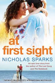 nicholas sparks uk at first sight