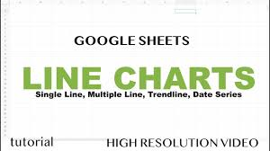 Google Sheets Charts Tutorial Google Sheets Line Charts Graph With Multiple Lines