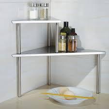 Kitchen Corner Shelves Kitchen Counter Corner Shelf Photo 3 Kitchen Ideas