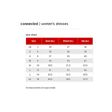 Connected Apparel Size Chart Connected Apparel New Black Women Size 10 Geometric Printed Sheath Dress