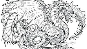 Dragon Coloring Pages For Adults Free Free Dragon Printable Coloring