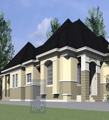 Small Picture Bedroom Bungalow House Design 4 Bedroom Bungalow Plan In Nigeria